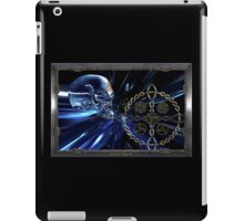 Celtic glass skull  iPad Case/Skin