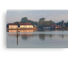 Langstone early morning Canvas Print