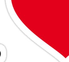 I ♥ TABLE TENNIS Sticker