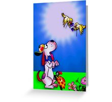 Spring Friends Greeting Card