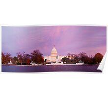 Capitol Building, Washington D.C. Poster