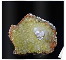 Botryoidal Agate in Green Poster