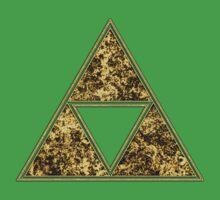 Sierpinski Triangle, Triforce, Zelda, Mathematics, Fractal, Math, Geometry One Piece - Short Sleeve