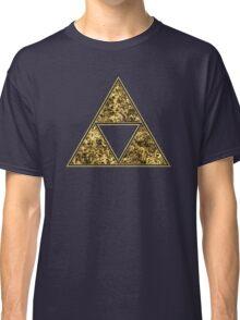Sierpinski Triangle, Triforce, Zelda, Mathematics, Fractal, Math, Geometry Classic T-Shirt