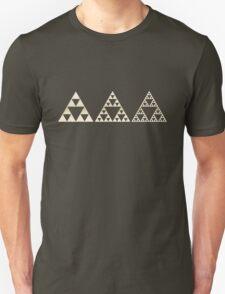 Sierpinski, Triangle, Mathematics, Fractal, Math, Geometry T-Shirt