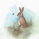 Hare and Bee by Ray Shuell