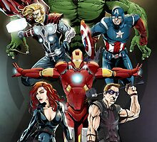 Avengers by Mark Lauthier