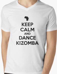 Keep calm and dance kizomba Mens V-Neck T-Shirt