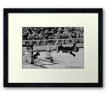 Bobby Orr and The Goal Framed Print