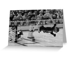 Bobby Orr and The Goal Greeting Card