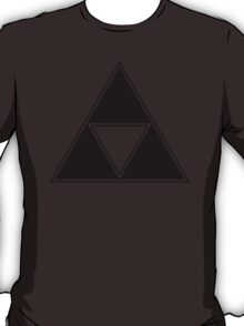 Triforce - Ancient Magical Symbol, Sierpinski Triangle T-Shirt