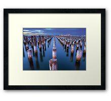 Princes Pier Melbourne Framed Print