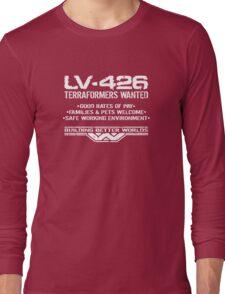 LV-426 Terraformers Wanted Long Sleeve T-Shirt