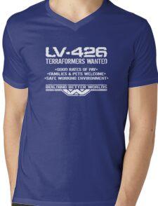LV-426 Terraformers Wanted Mens V-Neck T-Shirt