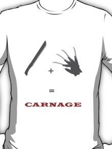 Freddy Krueger + Jason Voorhees T-Shirt