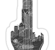 We Built This City Sticker