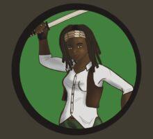 Michonne by charmedward