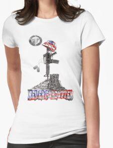 NEVER FORGOTTEN 2013 Womens Fitted T-Shirt