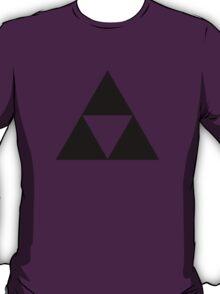 Triforce - Ancient Magical Symbol, Sierpinski Triangle T-Shirt