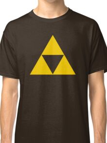 Triforce - Ancient Magical Symbol, Sierpinski Triangle Classic T-Shirt