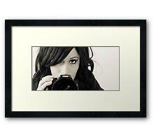 The Selfie Framed Print