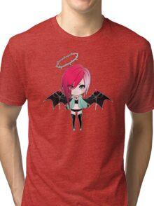 Punk Girl Collection: Strawberry Demon Tri-blend T-Shirt