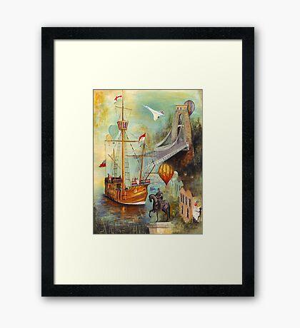 Bristol Impressions - 'The Matthew' Framed Print