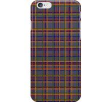 Smart plaid pattern iPhone Case/Skin