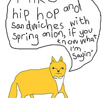 Fox Likes Hip Hop by salgallery