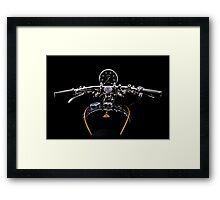 Vincent Black Shadow Speedo Framed Print