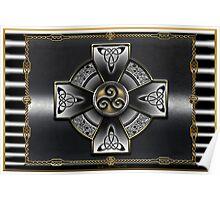 Celtic Triquetra Poster