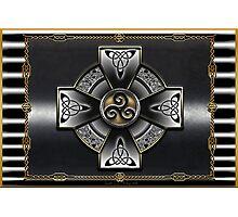 Celtic Triquetra Photographic Print
