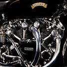 Vincent Black Shadow Engine by Frank Kletschkus