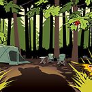 The Joy Of Camping by drawgood