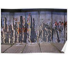 Gedenkstaette Berliner Mauer, Berlin 2012 Poster