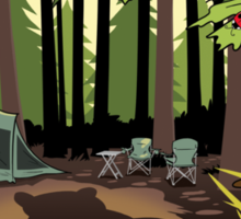The Joy Of Camping Sticker
