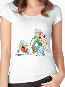 obelix Women's Fitted Scoop T-Shirt