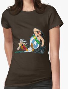 obelix Womens Fitted T-Shirt