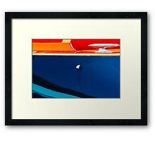 Reflecting hull Framed Print