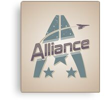 Vintage Alliance Canvas Print
