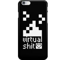 we ♥ virtual s*hit (black) - phone cases iPhone Case/Skin
