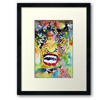 MR. INFINITE TREMORS Framed Print