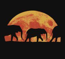 Moon Elephants by AllyFlorida