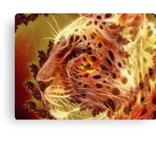 Golden Leopard Canvas Print