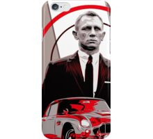 JAMES BOND-ASTON MARTIN iPhone Case/Skin