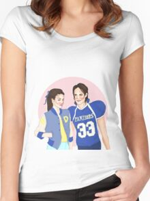 Tim Riggins and Lyla Garrity - Friday Night Lights Women's Fitted Scoop T-Shirt