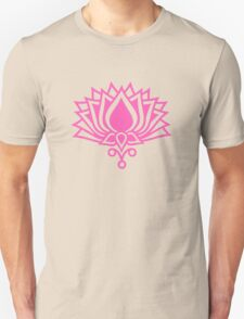 Lotus Flower Symbol Wisdom & Enlightenment Buddhism Zen Unisex T-Shirt