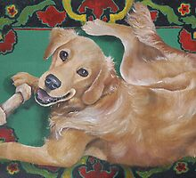 Golden Retriever by M. E.  Bilisnansky McMorrow