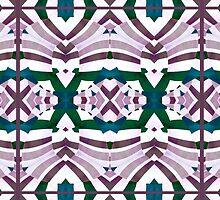 Retro Style Pattern by DFLC Prints