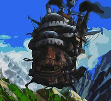 Howl's Moving Castle Print by Colin Bradley